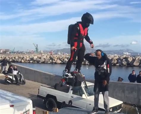 amazing flyboard air  action