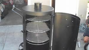 Upright Barrel Smoker : curing brinkmann trailmaster vertical smoker before use youtube ~ Sanjose-hotels-ca.com Haus und Dekorationen
