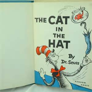 dr seuss the cat in the hat the cat in the hat edition by dr seuss and