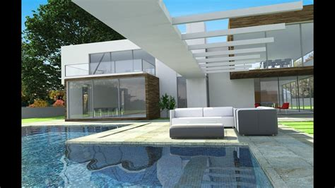 Beautiful Modern Homes YouTube, Modern Contemporary Homes