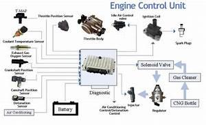 Prinsip Kerja Engine Control Unit  Ecu