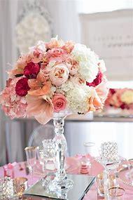 Wedding Centerpiece Pink Flowers