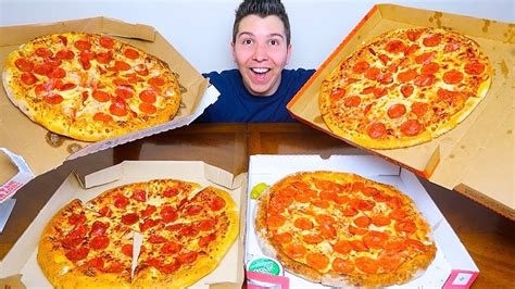 Pizza Hut vs. Domino's vs. Papa John's vs. Little Caesars ...