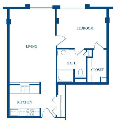 small 1 bedroom house plans apartments presbyterian manor