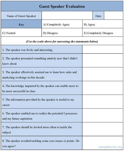 19825 speaker feedback form speaker feedback form resume template sle