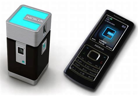phone with projector nokia pulse pocket projector concept controlled via nokia