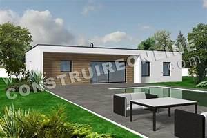 vente de plan de maison petit budget With lovely maison toit plat en l 0 maison neuve avec piscine toit plat