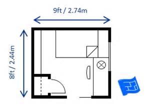 How Big Is A Standard Bedroom by Bedroom Size