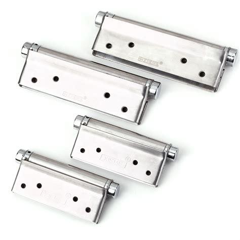 spring door hinges square corner stainless steel adjustable  closing ebay