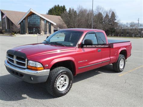 1997 Dodge Dakota Slt Extended Cab Pickup 4x4 4 Wheel