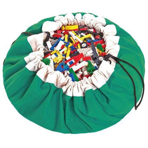 tapis de jeux et sac de rangement vert