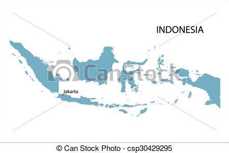 blue map  indonesia  indication  jakarta