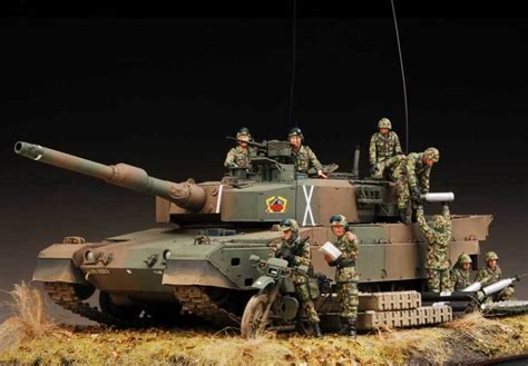 Award Winner Built 1/35 Jgsdf Type 90 Kyu-maru Mbt