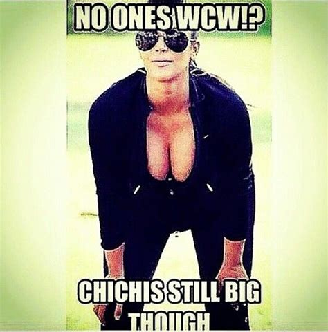 No Ones Wcw Meme - no ones wcw chichis still big though quotes and memes