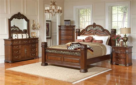 Intense Furniture Decoration For Traditional Bedroom With
