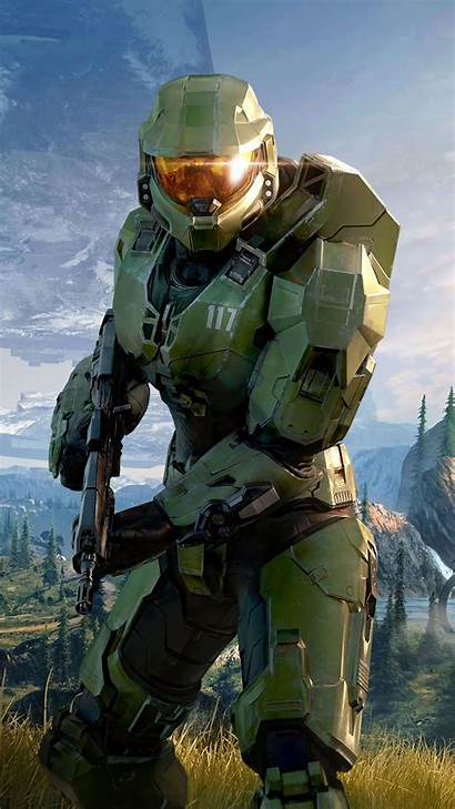 Halo Infinite Mobile Wallpapers Chief Master Poster