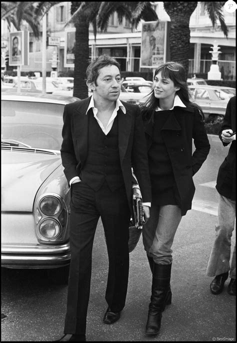 jacques doillon serge gainsbourg serge gainbourg et jane birkin 224 cannes 1969 purepeople