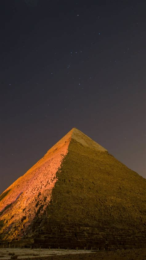 Download Pyramid by Night HD wallpaper for Xperia Z2 ...