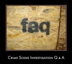 Crime Scene Inv... Crime Evidence Quotes