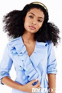 Ways to Style Natural Hair - Black-ish Star Yara Shahidi ...