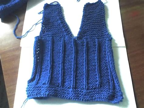 como tejer un chaleco a dos agujas chalequitos para beb 233 curso de tejido
