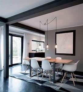 Deco Noir Et Blanc : decoration interieur salon noir et blanc ~ Melissatoandfro.com Idées de Décoration