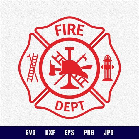 489 fire department free vectors on ai, svg, eps or cdr. Fire department svg fire dept svg firefighter svg maltese ...