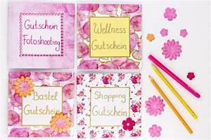 Geburtstagsgeschenk Für Mutter : gutscheine f r mama selbstgemachte geschenke zum muttertag ~ Orissabook.com Haus und Dekorationen