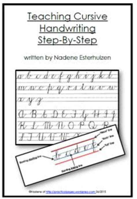 Handwriting  Homeschool, Teaching And Step By Step
