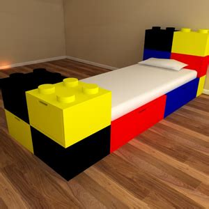 building block bed lego kids beds