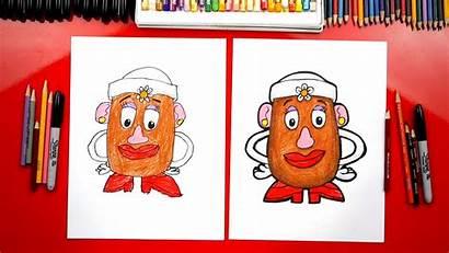 Draw Potato Head Mrs Challenge Toy Hub