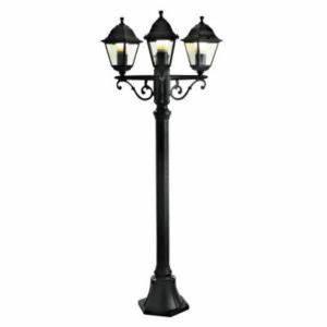 Lampadaire 3 Tetes : lampadaire ext rieur 3 t tes 1er prix magellan noir cm castorama ~ Teatrodelosmanantiales.com Idées de Décoration