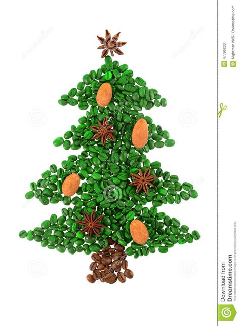 Your email address will not be published. Green Coffee Christmas Tree Stock Image - Image of concept, coffe: 47796233
