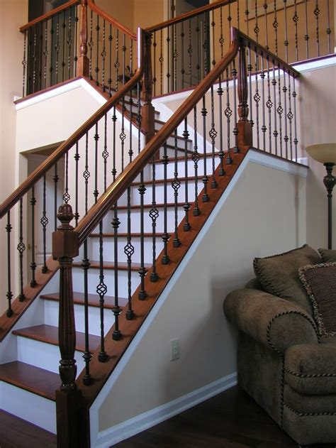 Wood Banister by Best 25 Indoor Stair Railing Ideas On Indoor
