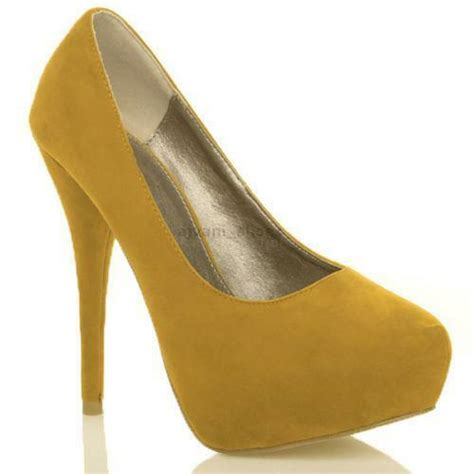 mustard colored shoes mustard yellow shoes ebay