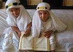 Muslim People: Cute Muslim Kid with Holy Qur'an - Part: (1)