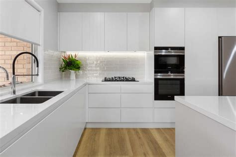 Design Ideas White Kitchens by Modern White Kitchen Kellyville Premier Kitchens