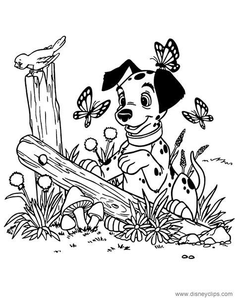 101 Dalmatians Coloring Pages 6 | Disneyclips.com