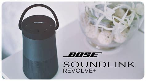 bose 360 grad sound bose soundlink revolve plus 360 grad lautsprecher unboxing und ersteindruck