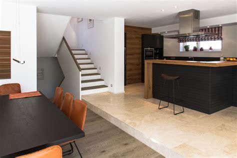 Einfamilienhaus Kueche Aus Erlenholz by Einfamilienhaus Mit Garage M13 Architekten