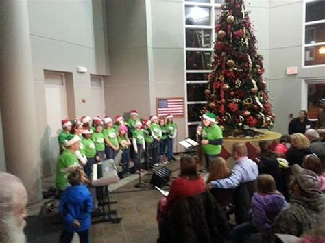 ofallon tree lighting wednesday november features train