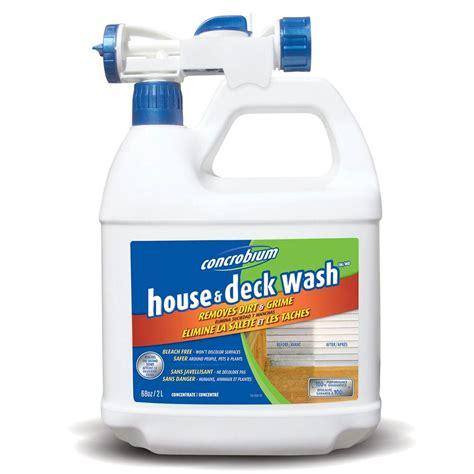 concrobium  oz house  deck wash    home depot