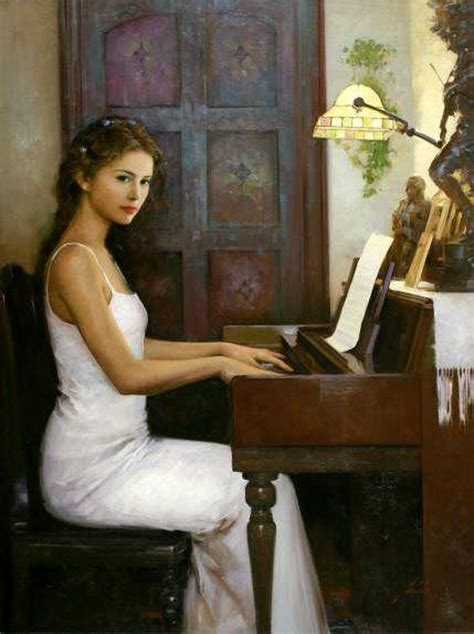romantic paintings  women