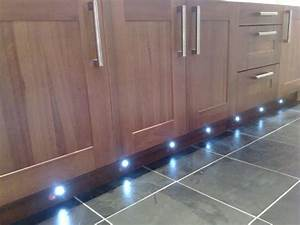Set Of 10 Waterproof Led Blue Deck Lights    Decking