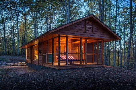 wooden cabin house escape tiny homes home design garden architecture