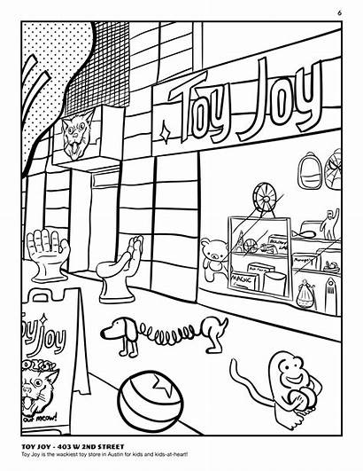 Coloring Pages Toys Toy Template
