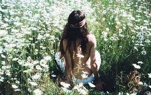 art, girl, hippie, nature, photography - image #431153 on ...