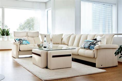 canapé stressless 2 places canapé moderne avec dossier basculable 1 2 ou 3 places