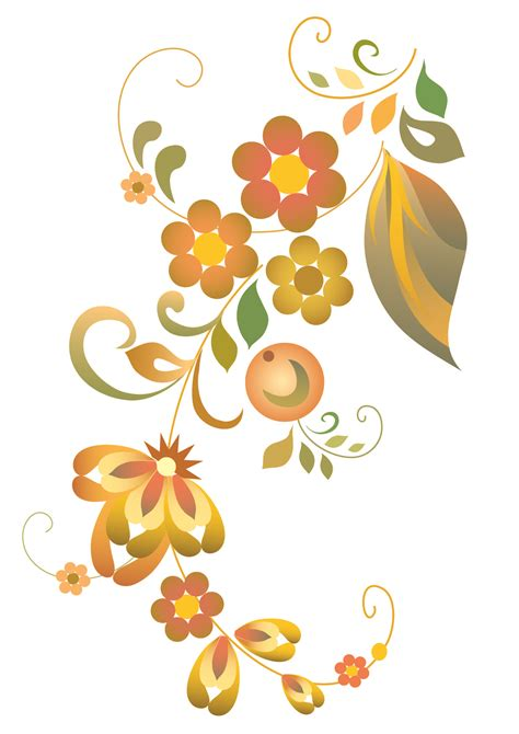 free vector clipart free flower vector clipart best