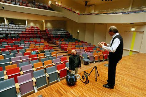 Koncertzālē veiksmīgi noritējušas akustikas pārbaudes ...